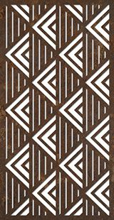 geometric design from DecoPanel Designs, Australia . lines of triangles using black/white contrast . Stencil Templates, Stencil Patterns, Stencil Designs, Art Design, Design Elements, Jaali Design, Decorative Screen Panels, Cnc Cutting Design, Laser Cutting