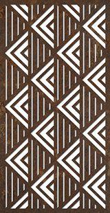 geometric design from DecoPanel Designs, Australia . lines of triangles using black/white contrast . Laser Cut Screens, Laser Cut Panels, Metal Panels, Stencil Templates, Stencil Patterns, Stencil Designs, Decorative Screen Panels, Jaali Design, Cnc Cutting Design