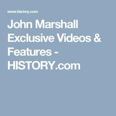 American History 1 John Marshall John Marshall American History Marshall