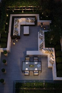 """""""Gardens are for people"""" - outdoor living and dinning room, by Helen Green terrace design Top Interiors Designers in UK – Part 5"""