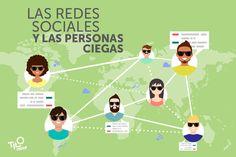 ¿Sabes cómo se adaptan Facebook o Twitter a las personas con discapacidad visual? #HoySeMueveEnTilo Pablo y nos deja un alucinante ejemplo de cómo se adaptan los usuarios a ellas!