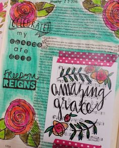 Romans 8:2 Love this verse and song! @growingmeadows I adore the journaling…