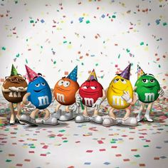 Always party with the M&M guys!!