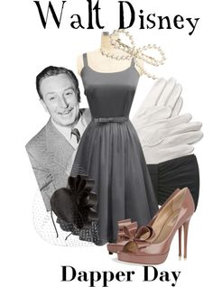 """Walt Disney (Dapper Day)"" by agust20 on Polyvore"