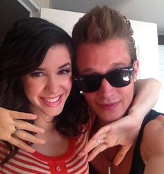 Erica Dasher and Nick Roux
