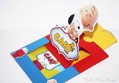 """""""#Caio4Anos  Apaixonada por esses convites!!! Festa do Snoopy muita alegria e diversão. Um trabalho exclusivo e assinado por @paullomoraisdesign  Sim, vai…"""""""