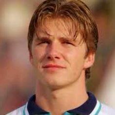 E depois cresceu!David Beckham