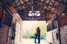 Engagement Session--- I would like something like this, but on a wide open dance floor.:)