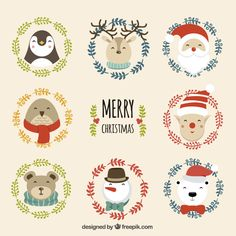 Listings (out of Exclusive free vectors by Freepik Merry Christmas, Christmas Doodles, Christmas Drawing, Christmas Stickers, Christmas Love, Christmas Design, Christmas Printables, Christmas Presents, Christmas Crafts