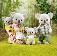 Calico Critters Outback Koala Family...why do I love these tiny lovelies so much!
