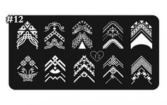 1 Sets Important Popular Hots Nails Art Stampers Decoration Acrylic DIY Template Design Model Type Tian-Xin-12 * Click image to review more details.