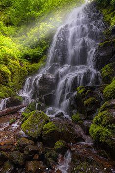 Wasserfall Gully
