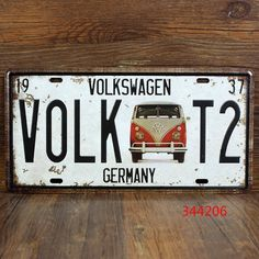 Купить товарВолк T2 VOLKSWAGEN германия VW BUS олово вход бар паб гараж дома декор стены ретро арт mail 15 * 30 см олова живопись в категории Металлические ремеслана AliExpress.        Эта серия повесить картину качества творческой, контракт, модно.         Это важно для бара, кафе, все виды