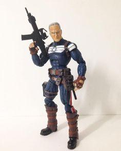 Old Man Rogers - Uncanny Avengers (Marvel Legends) Custom Action Figure