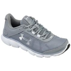ff9fe3dc3ce Under Armour Micro G Assert 7 Running Shoes for Ladies - Black White Neo  Pulse - 6M