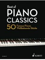 DIVERSE - BEST OF PIANO CLASSICS 50 Famous Pieces - € 23,00 Piano klassiek, Piano solo, SCHOTT ED9060-75