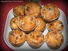 Briose cu mere si scortisoara - MyBisque Cupcake Cookies, Cupcakes, Muffins, Sweets, Breakfast, Desserts, Tudor, Baby Room, Food Ideas