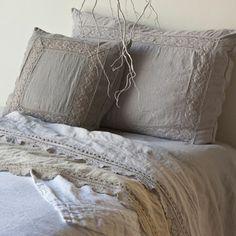 Bella Notte Homespun Duvet Cover