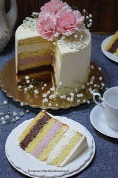 Vanilla Cake, Cooking Recipes, Birthday Cake, Food, Pastries, Diet, Chef Recipes, Birthday Cakes, Essen