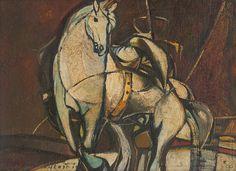 Vincent Hložník: Krasojazdkyňa:1947