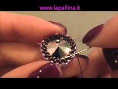"""Tutorial Ciondolo """"Cuore Merletto""""-DIY- incastonatura cuore 14 mm Swarovski - YouTube"""