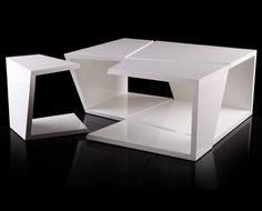 decode: #white slicebox coffee #table #monochromatic