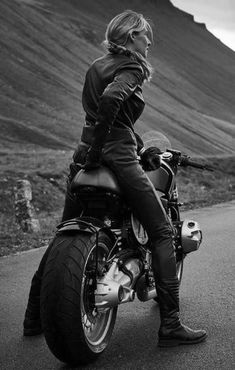 Female, male, bobber, chopper, dresser, crook, straight--doesn't matter. The road is the road and the road is freedom.