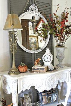 Vintage inspired French Country home tour | Debbiedoo's