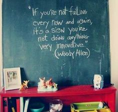 Woody Allen failure quote via Carol's Country Sunshine on Facebook