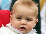 At eight months old it is normal for children to have begun to grow teeth and Prince George appears to have a healthy set, with numerous tee...