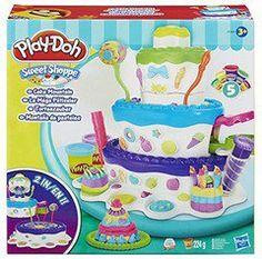 Hasbro Play-Doh plus sweet shoppe cake mountain