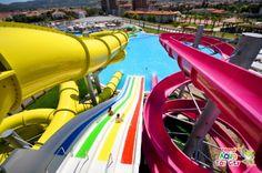 Izmir's Aqua Toy City #Waterpark Complex hosts #Polin Waterslides #Turkey