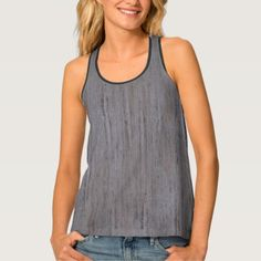Pale Gray Stone Structure All-Over Print Tank Top  $44.00  by FantasyApparel  - custom gift idea