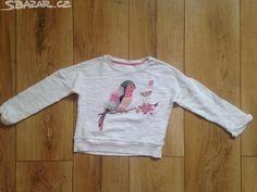 dívčí mikina s ptáčkem velikost 104 - obrázek číslo 1