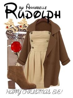"""""""Rudolph"""" by annabelle-95 ❤ liked on Polyvore featuring NAKAMOL, Bling Jewelry, LouLouBelle Bags and Alexander Wang"""