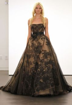"""vera wang witchcraft...absolutly ..me..sorry..but if i ever needed a """"black wedding gown""""...??..its alway's to be a """"vera"""""""