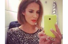 Caroline Flack Cuts Her Hair Into A Blunt Bob! — Flutteronby.ie - Fashion Styling Courses Ireland