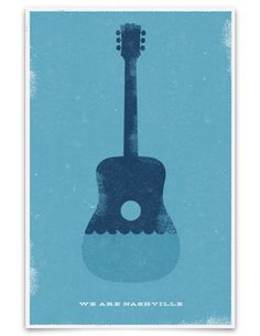 hatch show print, we are nashville #onlyinnashville (printed following the flood in 2010)