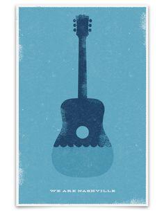 Nashville flood relief poster