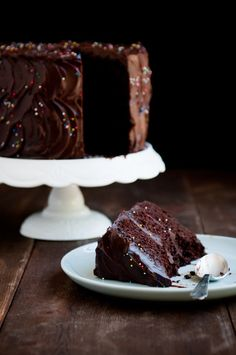 Chocolate Cake (10 awesome cakes on link) http://www.topinspired.com/top-10-best-birthday-cake-recipes/