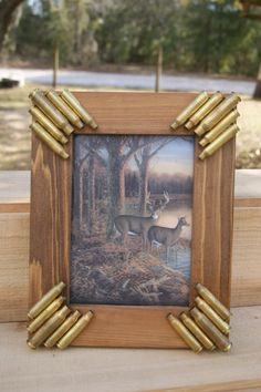 Handmade Bullet Picture frame by SouthernCharmBullet on Etsy