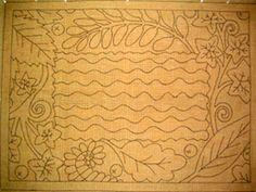 Flora Rug Pattern by Christine Little-Encompassing Designs