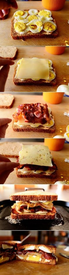 food drink: Ultimate Grilled Cheese Sandwich