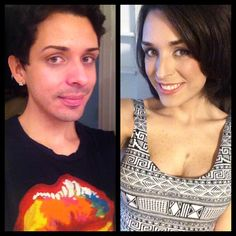 24 MTF, 1 Year Timeline Transgender Before And After, Mtf Before And After, Transgender Transformation, Male To Female Transformation, Janet Mock, Male To Female Transition, Transgender Model, Tgirls, Crossdressers