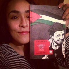 Noemi con Guerrilla Radio, Vittorio Arrigoni la possibile utopia #face4books #piulibri16 #standH05 #nonchiamatelasoloeditrice #guerrillaradio #vittorioarrigoni #graphicnovel Noemi sarà con noi a Più libri più liberi, stand H05, dal 7 all'11 dicembre