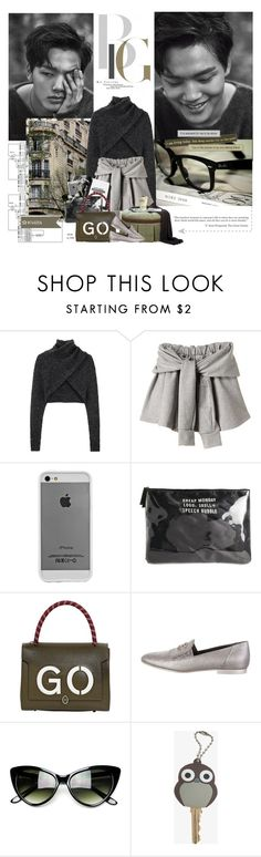 """""""Baby, how you been?"""" by maybones ❤ liked on Polyvore featuring Alexander Wang, Garance Doré, Case-Mate, Cheap Monday, Anya Hindmarch and Chanel"""