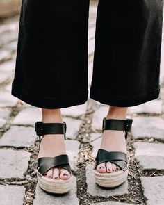 Sharing my favorite sandals for spring #ontheblog today - all very affordable, check it out! Link is in bio. ( & to shop these fabulous flatforms, follow me on the @liketoknow.it app or go to >> http://liketk.it/2vCsY ) #liketkit #LTKunder100  #ShopStyle #shopthelook #SpringStyle #SummerStyle #MyShopStyle #BeachVacation #WeekendLook #DateNight #GirlsNightOut #OOTD