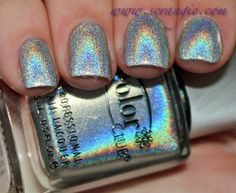 Harp on It // Scrangie: Color Club Halo Hues Holographic Nail Polish Collection Spring 2013 Swatches and Review