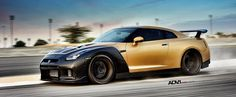 ADV.1 Has a Golden Godzilla Showcasing Wheel Design in Stunning Photo Shoot - Photo Gallery