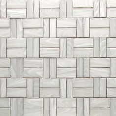 "This white-on-white mosaic is called Fiber Glass and is one of three new collections from our ""Night Shades"" palette."